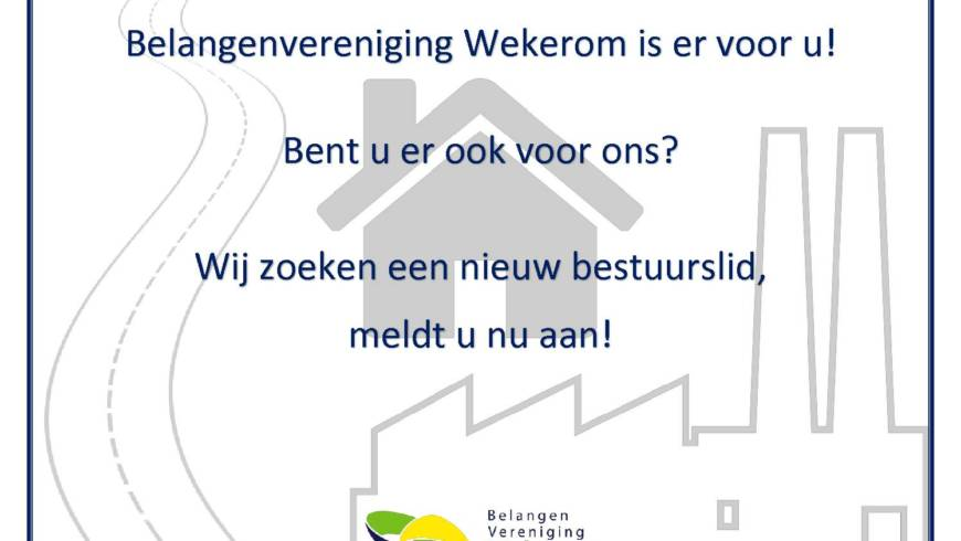Belangenvereniging op Winterfair Wekerom 8 december